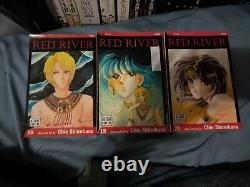 Red river manga 1-25 near complete OOP rare