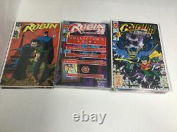 Robin I II III Tim Drake Complete Lot 1-6 1-183 Red Robin 1-26 Nm Near Mint DC