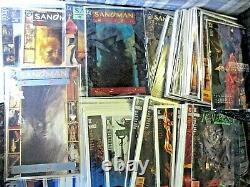 SANDMAN #1-75 (1989) near complete run NM/NM+ with KEYS, Gaiman, NETFLIX
