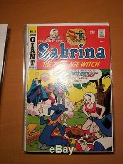 Sabrina the teenage witch comics #1-17 near complete CGC 7.5