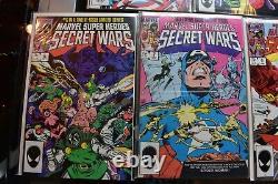 Secret Wars #1-12 -8 Marvel Comics Near Complete Set 1984 Black Suit Spider-Man