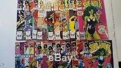 Sensational She Hulk #1 60 Near Complete Set 55 Issues 1989 + 4 Bonus Books 08