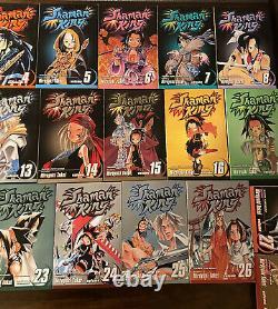 Shaman King Manga English Vol. 1 28 Near Complete Set OOP Rare