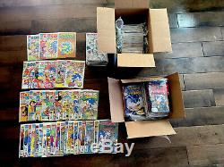 Sonic The Hedgehog NEAR COMPLETE Archie Comic Book Collection MUST LOOK