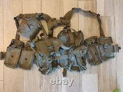 South African Defence Force SADF Pattern 70 Webbing Nearly Complete