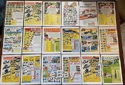 Star Trek #3-61 Gold Key/whitman Comic Near Complete Run Lot Of (60) Vintage