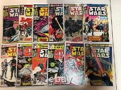 Star Wars (1977) #1-67 69-107, 108 Annual #1 2 3 Near Complete Set Marvel