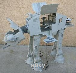 Star Wars Imperial AT-AT Walker 2010 Legacy Collection Hasbro Near Complete Read