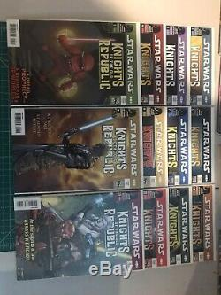 Star Wars Knights of the Old Republic Comic Near Complete SET 53 Comic Books LOT