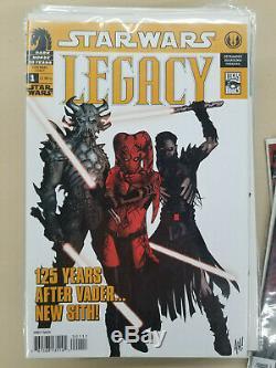 Star Wars Legacy 0, 1/2, #1-50 Run Near Complete Missing 27, 46 & 47 Dark Horse