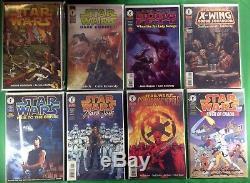Star Wars Lot of 178 comics 29 sets 7 near complete sets 7 one shots Dark Horse