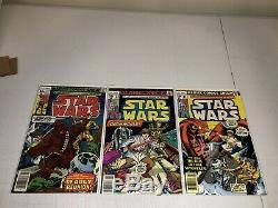 Star Wars Marvel Comics Series 1977 1-25 Complete Run Bronze Fine To Near Mint