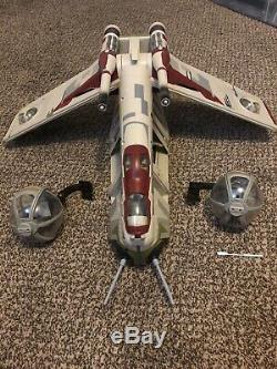 Star Wars The Vintage Collection TVC Republic Gunship AOTC Near Complete