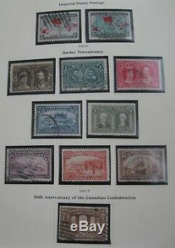 Superb Canadian Collection in Scott Specialty Album 1851-1991- NEARLY COMPLETE