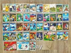 THE POKEMON WEEKLY NEWS NEAR COMPLETE SET JAPANESE card bandai carddass HOLO