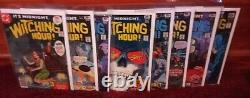 THE WITCHING HOUR LOT OF 61 BRONZE AGE HORROR DC COMICS nearly complete run