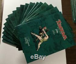 Tarzan 1-18 Hc Hardcover Flying Buttress Complete Set Nm Near Mint P2