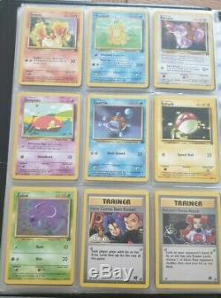Team Rocket Complete 83/82 WOTC EX/Near Mint Pokemon Cards Dark Charizard Raichu