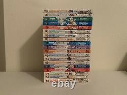 The Melancholy of Haruhi Suzumiya Manga Lot Vol. 1-5, 7-20 NEAR COMPLETE READ