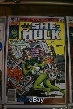 The Savage She-Hulk #1-21 & 25 Near Complete Marvel Set 1980 1st Appearance Jen