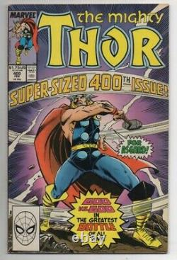 Thor #400-500 Missing 6 Issues NEAR COMPLETE SET! Marvel Comics 1989 GD-VF