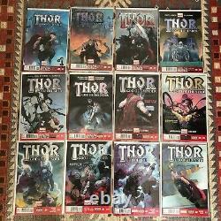 Thor God of Thunder 1,2,3,4,5,6,7,8,9,10 20, 22 25 Near Complete 1st print