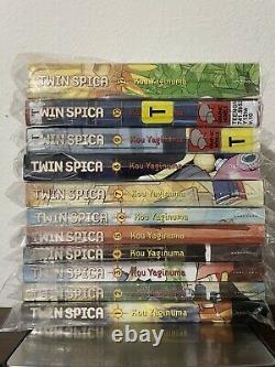 Twin Spica Vol. 1-10 & 12 by Kou Yaginuma (English) Near Complete Manga Set