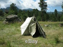 U. S. Army 2-Man Mountain Tent Complete & Original 1964 Near Perfect Condition