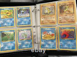 Ultimate Vintage Pokemon Collection! Near Complete Base Set, Jungle, Fossil