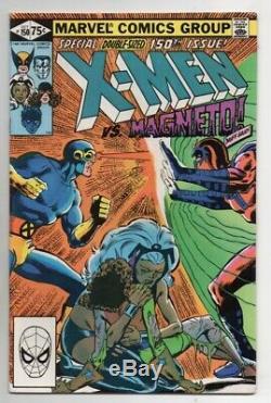 Uncanny X-Men #150-200 (Minus #171) NEAR COMPLETE SET! Marvel Comics 1981 GD-VG