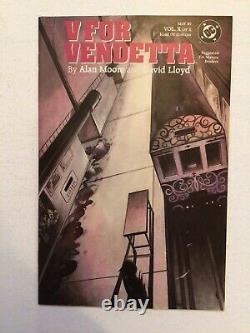 V For Vendetta #1-10 Complete Setbagged/boardedbeautiful Lotnear Mint/nm+