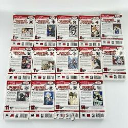 Vampire Knight Near Complete Series Set Manga Comic Book Lot Vol 1-14 English