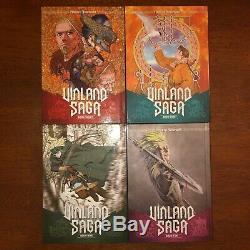 Vinland Saga Manga Volume 1-10 English Near Complete Great Condition Hardcover