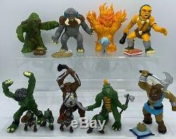 Vintage ADVANCED DUNGEONS AND DRAGONS Near Complete Action Figure Collection Lot