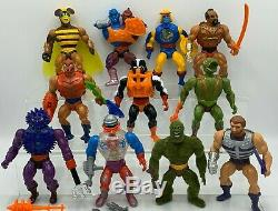Vintage Masters of the Universe, MOTU, He-man Lot HUGE Near Complete Collection