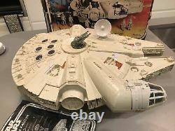 Vintage Millenium Falcon 1979, Working Motor. Boxed. Fully Complete. Near Mint