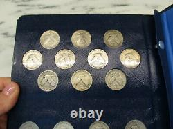 Vintage Standing Liberty US Silver Quarter Collection Near Complete Better AK177
