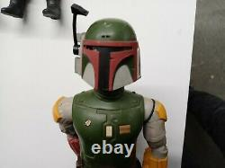 Vintage Star Wars Boba Fett ORIGINAL 12 KENNER NEAR COMPLETE