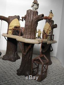 Vintage Star Wars'Ewok Village' Playset (Near Complete) GREAT COLLECTION