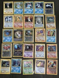 WOTC Pokemon Card Collection 11 Near Complete Sets (Base New Destiny) 82 Holos