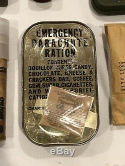 WWII C1 Emergency Substenance Vest. RARE Slant Pocket. Near Complete