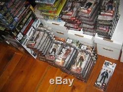 Walking Dead McFarlane 94 Figures Near Complete Set Lot Series 1-10 Exclusives