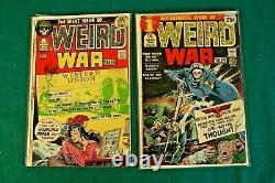 Weird War Tales #1-124 Near Complete Run Joe Kubert 1st Frank Miller Horror DC