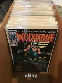 Wolverine 1 Thru 189 Near Complete Many Doubles Nm 42 Gold Ink 10 01 Annual Xmen