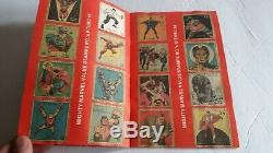Your Mighty Marvel Value Stamp Book Near Complete 90 Stamps Spiderman Hulk +