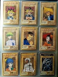 Yu Gi Oh Bandai Complete Full Set 1 118 + TA2 Blue-Eyes White Dragon Near Mint